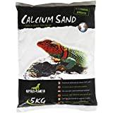 REPTILES PLANET Litière Sable de Calcium terrarium Calcium Sand Artic Blanc 5 kg
