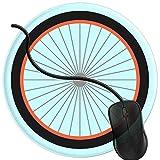 QCFW Tapis de Souris Pneu de vélo Mousepad Tapis de Souris Gaming Base en Caoutchouc Antidérapante,Résistant à Usure 2T2930