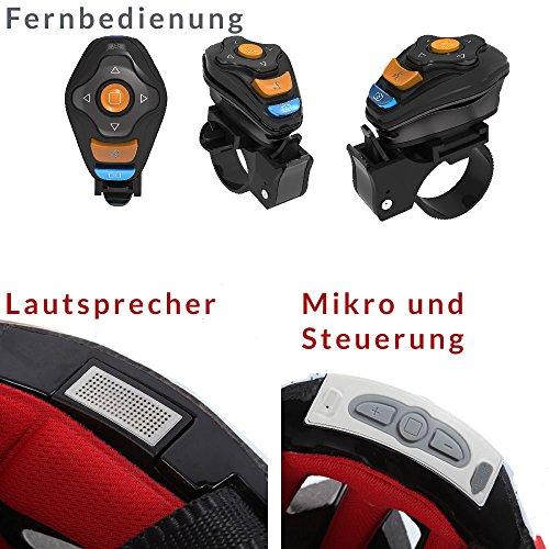 Livall MT1 Fahrradhelm Rot / Schwarz – MTB Helm - 7
