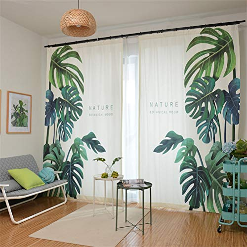 1 stück Vorhang Blickdichte Vorhänge Gardinen Wohnzimmer Gardine mit Ösen Energiespar & Wärmeisolierend Dekoschal Vorhang Polyester-Gewebe, White, 300 * 270cm