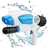 Wishtime Puissant Fusil à eau pistolet à eau Puissant jouet d'arme à eau 6m Long Shooting Range Super Soaker Jeu De Plein Air Pour Enfants et Adultes