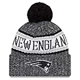 New Era NFL Sideline 2018 Bobble Mütze New England Patriots
