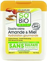 So'Bio Étic Douche Amande et Miel 300 ml Lot de 3
