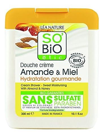 So'Bio Étic Douche Amande et Miel 300 ml Lot de