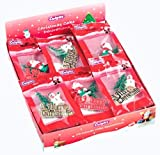 Christmas Cake Assorted Toppers x 3