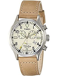Timex Analog Off-White Dial Unisex's Watch-TW2P84200AA