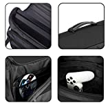 Kuboq Travel Gaming Bag for PlayStation 4 PS4 - Console Controllers Games Cable Slot, Waterproof Shoulder Bag