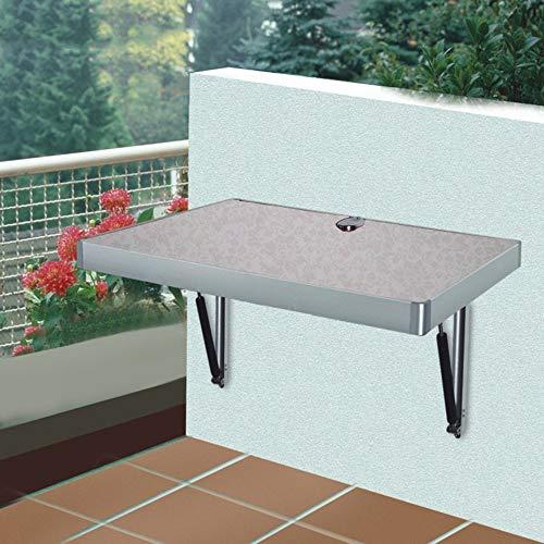 JIE Lazy Table - Große Größe Wand-Drop-Leaf Tisch, Klappküche Esstisch Kinder Schreibtisch sparen Platz,L100cm * W60CM *,Weiß -