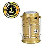 #9: Rhobos 6+1 Led Solar Emergency Light Lantern + USB Mobile Charging + Torch point,2 Power Source Solar, Lithium Battery, Travel Camping Lantern Compatible with Xiaomi, Lenovo, Apple, Samsung, Sony, Oppo, Gionee, Vivo Smartphones (One Year Warranty)