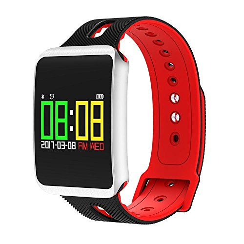 51yN3G9T13L. SS500  - Fitness Tracker, Heart Rate Monitor IP68 Waterproof Smart Bracelet Pedometer Wristband for iOS & Android,OOLIFENG