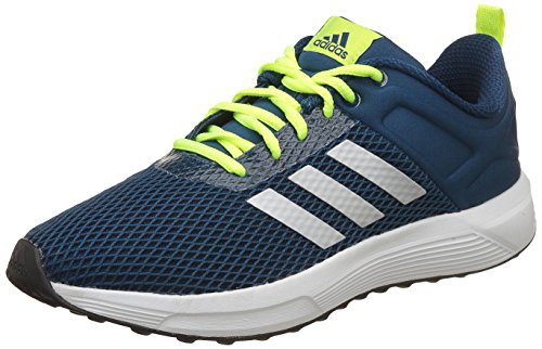 info for b2522 719d7 Adidas Men s Helkin 2.1 M Blunit Silvmt Syello Running Shoes - 10 UK