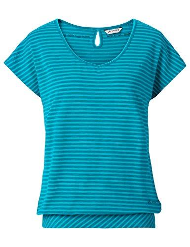 Vaude Damen Skomer II T-Shirt, Cyan, 42