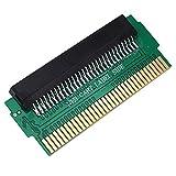 Hanbaili 60 Pin zu 72 Pin Adapter Konverter Für Famicom FC Spiele auf Nintendo NES Konsole