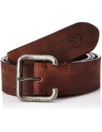 Tom Tailor Denim Herren Gürtel used look buffalo leather belt