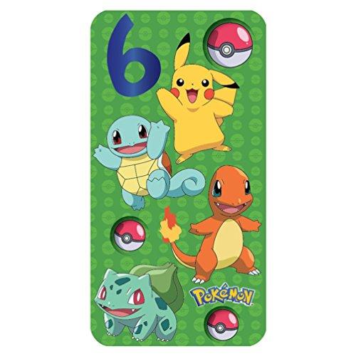 Pokemon 6. Geburtstag Karte