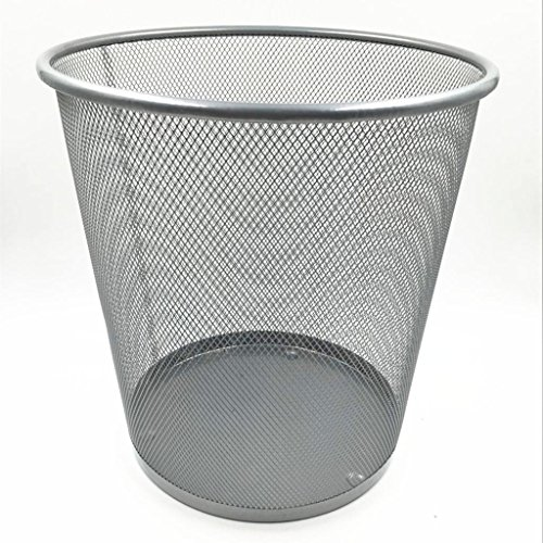 wgwioo-rolodex-maille-inox-petite-poubelle-ronde-corbeille-a-papier-pack-de-2-silver