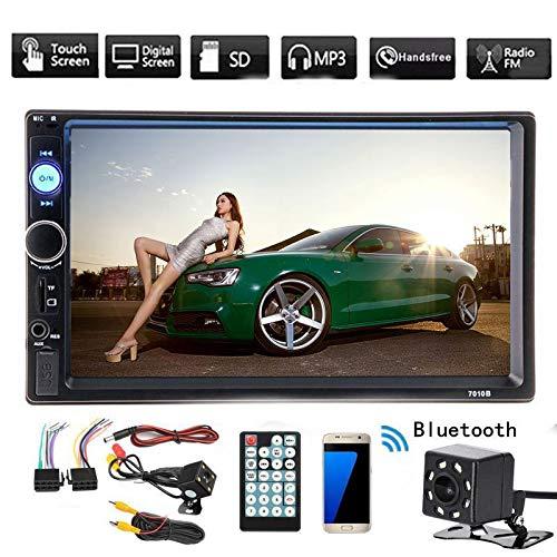 lzndeal 7pollici auto Radio Stereo MP5Lettore MP3vivavoce Bluetooth 2DIN telecamera per retromarcia