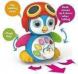 Tanzender Pinguin mit Musik für Jungen und Mädchen, Kinder oder Kleinkinder TG655 - Verfügt über verschiedene Modi, Lichter und Geräusche - Lustiges Spielzeug, das Geschichten erzählt von ThinkGizmos (markengeschützt)