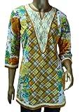 Sai Ruchi Women's Beige/Brown Multi Kurt...