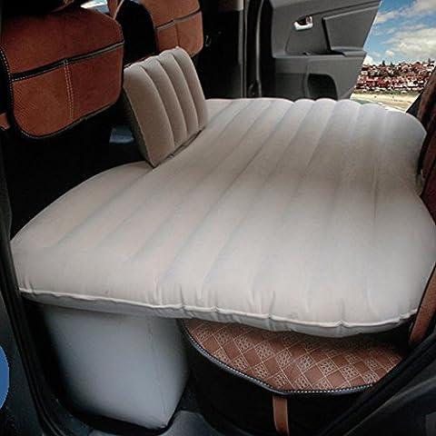 Coche dormitorio cama de aire cojín móvil Viajes inflación asiento posterior más grueso colchón extendido01 con un conjunto completo de