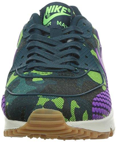 "Nike WMNS Air Max 90 Jacquard ""Black Noble"" (807298-700) teal purple ghost green 300"