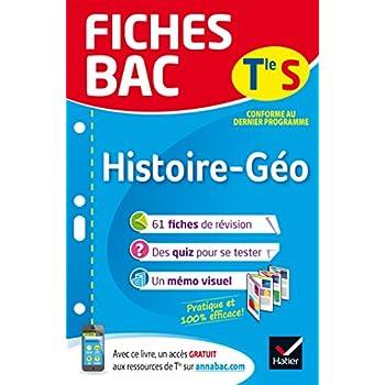 Fiches bac Histoire-Géographie Tle S: fiches de révision Terminale L, ES