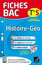 Fiches bac Histoire-Géographie Tle S - Fiches de révision Terminale L, ES de Élisabeth Brisson