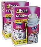 2 X Johnson's Veterinary Flea Killer Bomb Room Fogger Multi pack