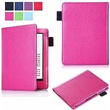 """Theoutlettablet® Funda ebook Bq Cervantes 4 6"""" / Cervantes 3 6"""" - Protección para libro electrónico - color Rosa Fucsia"""