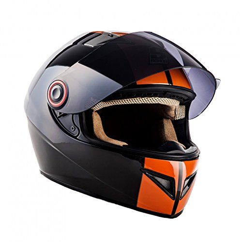 Full Face Cruiser Helmets >> Soxon St 666 Deluxe Full Face Urban Cruiser Street Scooter Helmet
