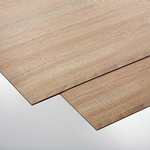 [70201028] Gadana Motiv, Dekorplatte, Optik: Eiche Holzoptik Effektplatte, Größe 650 x 1000 mm, Reliefhöhe: 1.2 mm