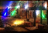 LED-Bild mit Beleuchtung LED- Bilder Leinwandbild 65 x 45 cm Leuchtbild CAFE / DINER Wandbild Samarkand-Lights