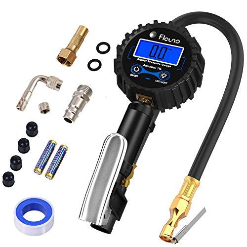 Flauno Manómetro Digital de Neumáticos 250 PSI