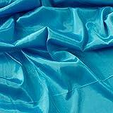 Türkis Blau Herzogin von Bridal Satin Rückseite Crepe