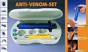 ANTI-GIFT-SET vuoto pompa zecche pinza zecche RIMUOVI hummelladen di primo soccorso