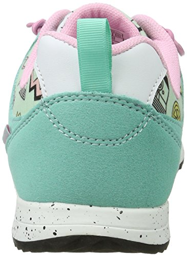 Lico Leeds, Sneakers Basses Mixte Adulte Turquoise (Tuerkis/rosa)