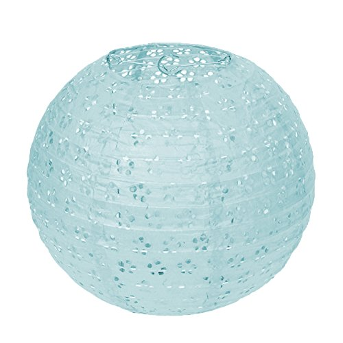 ier Laterne Lampion rund Papierlampen Lampenschirm für Hochzeit Kirche Garten Party Dekoration Ballform (8