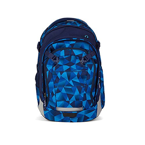 Satch Schulrucksack Match Blue Crush 9A2 blau...