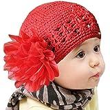 Oyedens Fotografia Bebes Newborn Photography Props Cinta De Cabeza Los NiñOs PequeñOs Infantil De La Flor Del Bebé De La Venda Del CordóN Headwear Sombrero De Ganchillo