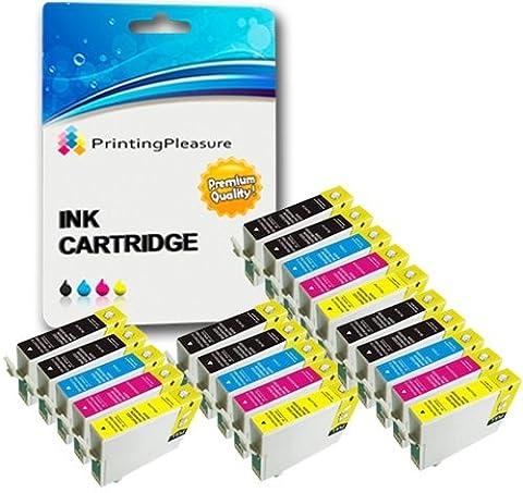 20 XL Tintenpatronen kompatibel zu Epson T1281-T1284 (T1285) für Stylus