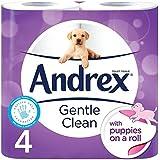 Andrex Toilette Douce Propre Tissu 4 Par Paquet