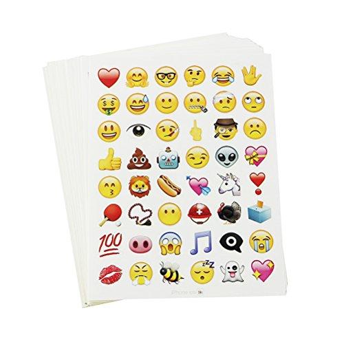 Preisvergleich Produktbild FENICAL 28PCS Sticker Set Emoticon Aufkleber für Handy Laptop Notebook Kinder Craft Scrapbooking