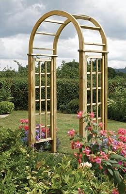 Timber Round Top Garden Arch OGD034