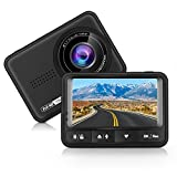 Panlelo D4 Car Dash Cam Full HD 170 Degree Wide Angle Dashboard Camera Recorder Car DVR with G-Sensor and Loop Recording