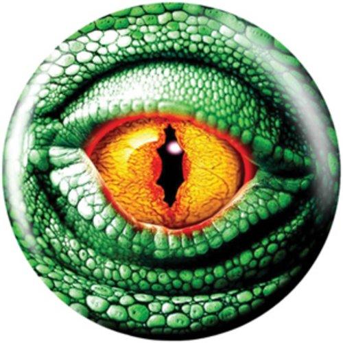 14 lbs, Bowling Ball Brunswick Viz-a-Ball Lizard Eye