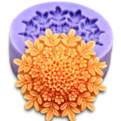 Inovey 3D Mini Pfingstrosen Fond Form Silikon Kuchen Schokolade Formen Kuchen Dekorieren Backen Werkzeug
