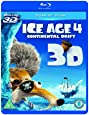 Ice Age 4: Continental Drift (Blu-ray 3D + Blu-ray)