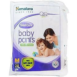 Himalaya Total Care Baby Pants - Medium, 28 Pieces Pack