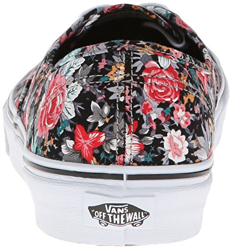 Vans U Authentic, Baskets mode mixte adulte Noir (Black/True White)