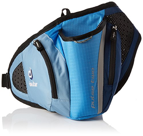 Deuter Pulse Sacoche de Ceinture Mixte, Coolblue/Midnight, 1 L